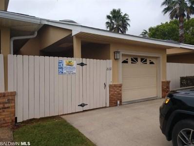 501 E Cotton Creek Dr UNIT 202, Gulf Shores, AL 36542 - #: 280525
