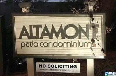 3350 Altamont Dr S UNIT B17, Birmingham, AL 35205 - #: 843072