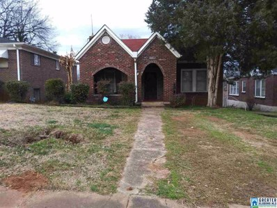 1412 44TH St, Birmingham, AL 35208 - MLS#: 843827