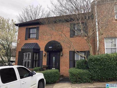 1601 Richard Arrington Blvd UNIT 1, Birmingham, AL 35205 - MLS#: 858046