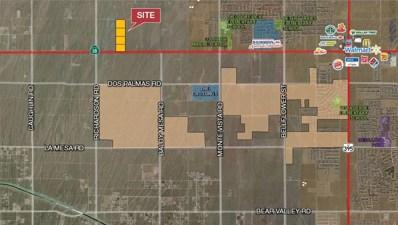 0 Palmdale Road, Adelanto, CA 92301 - MLS#: 482502