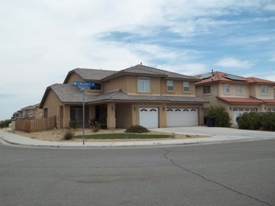 12422 Cricket Lane, Victorville, CA 92392 - MLS#: 488168
