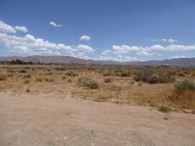 0 Navajo Road, Apple Valley, CA 92308 - MLS#: 489512