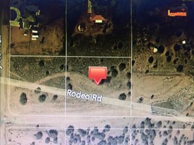 0 Rodeo Road, Oak Hills, CA 92344 - MLS#: 491811