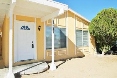 2024 Yosemite Drive, Barstow, CA 92311 - MLS#: 492007