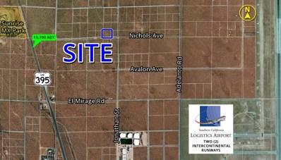 0 Nichols Road, Adelanto, CA 92301 - MLS#: 493686