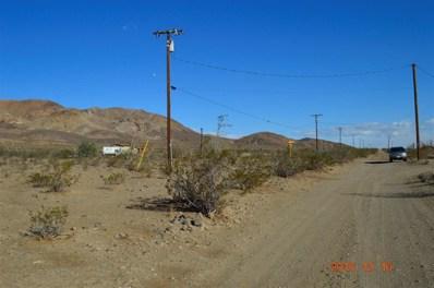 0 Palma Vis Road, Yermo, CA 92398 - MLS#: 494226