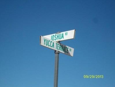 0 Yucca Terrace Drive, Phelan, CA 92344 - MLS#: 495734