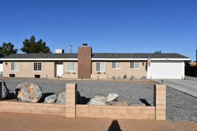 13360 Rancherias Road, Apple Valley, CA 92308 - MLS#: 496005