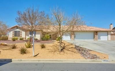 19618 Powhatan Road, Apple Valley, CA 92308 - MLS#: 497406