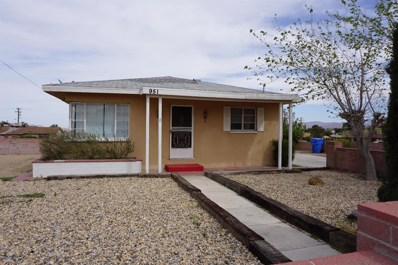 951 Purple Sage Court, Barstow, CA 92311 - MLS#: 497736