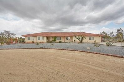 329 Lindero Road, Pinon Hills, CA 92372 - MLS#: 499055