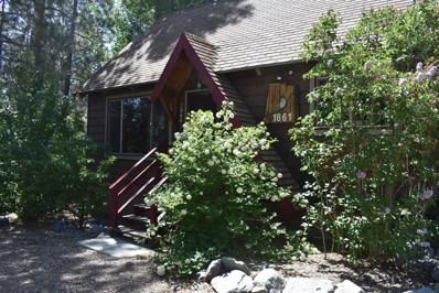 1861 Thrush Road, Wrightwood, CA 92397 - MLS#: 499566