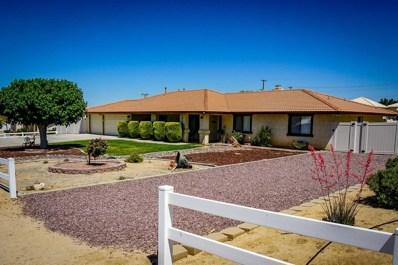 19178 Hupa Road, Apple Valley, CA 92307 - MLS#: 500076