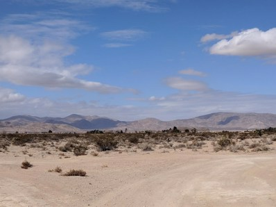0 Sunrise Road, Lucerne Valley, CA 92356 - MLS#: 500584