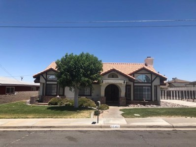 1141 Arroyo Drive, Barstow, CA 92311 - MLS#: 500814