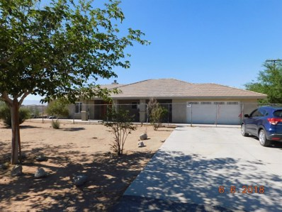 20511 Zuni Road, Apple Valley, CA 92307 - MLS#: 501174