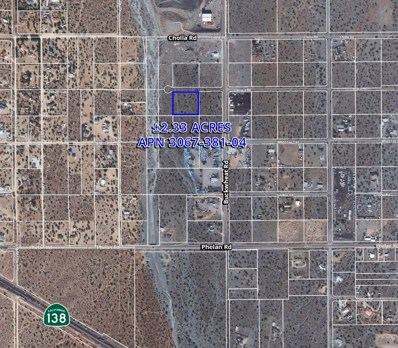 0 Buckwheat Road, Phelan, CA 92371 - MLS#: 501285