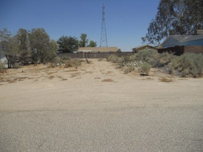0 Panther Avenue, Adelanto, CA 92301 - MLS#: 501587