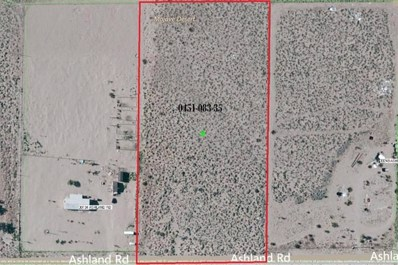 0 Ashland Road, Lucerne Valley, CA 92356 - MLS#: 502305