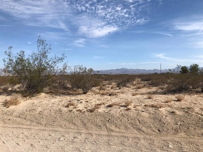0 Sage Street, Lucerne Valley, CA 92356 - MLS#: 502559