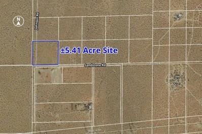 0 Sandstone Road, Phelan, CA 92371 - MLS#: 502635