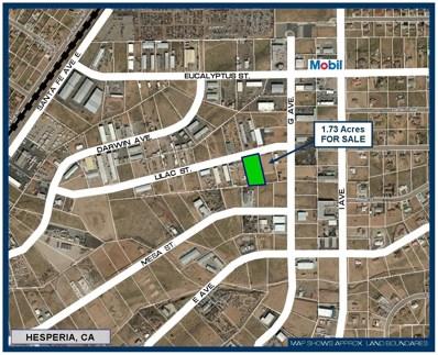 0 Lilac Street, Hesperia, CA 91245 - MLS#: 503411