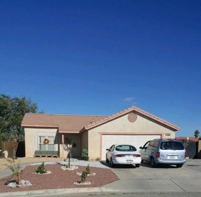 14625 Kimberly Street, Adelanto, CA 92301 - MLS#: 505511