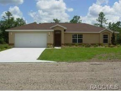 3814 W Keene Lane, Citrus Springs, FL 34433 - #: 775126