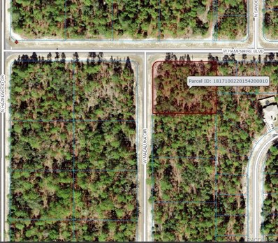 4018 W Malaluka Circle, Citrus Springs, FL 34434 - #: 777958