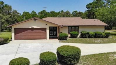 7552 N Firwood Circle, Citrus Springs, FL 34433 - #: 784476