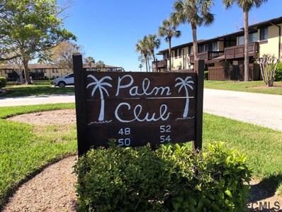 50 #207 Club House Dr UNIT 207, Palm Coast, FL 32137 - MLS#: 236662