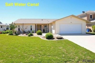 14 Crazy Horse Court, Palm Coast, FL 32137 - MLS#: 237902