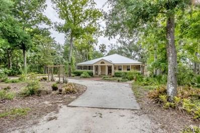 25 Bulow Woods Circle, Flagler Beach, FL 32136 - MLS#: 238118