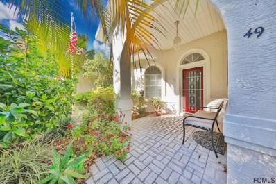 49 Fountain Gate Lane, Palm Coast, FL 32137 - MLS#: 238274