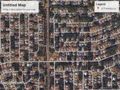 51 Fenwick Ct, Palm Coast, FL 32137 - MLS#: 239265