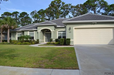 17 N Park Circle, Palm Coast, FL 32137 - MLS#: 240104