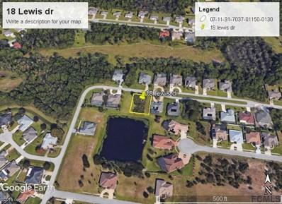 18 Lewis Dr, Palm Coast, FL 32137 - MLS#: 240328