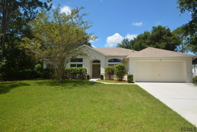 190 Palmwood Drive, Palm Coast, FL 32164 - MLS#: 240515