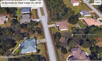 32 Burnside Drive, Palm Coast, FL 32137 - MLS#: 240738