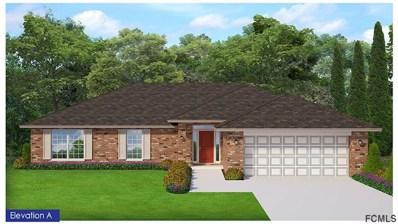 25 Bronson Lane, Palm Coast, FL 32137 - MLS#: 241717