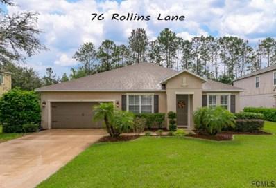76 Rollins Lane, Palm Coast, FL 32164 - MLS#: 242384