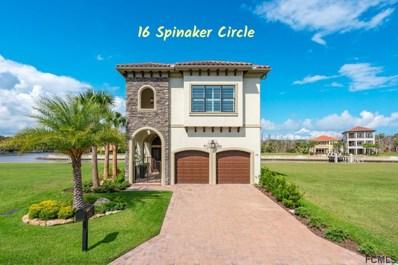 16 Spinaker Circle, Palm Coast, FL 32137 - MLS#: 242699