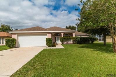 38 Firethorn Lane, Palm Coast, FL 32137 - MLS#: 242847