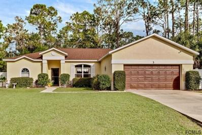3 Raintree Pl, Palm Coast, FL 32164 - MLS#: 242921