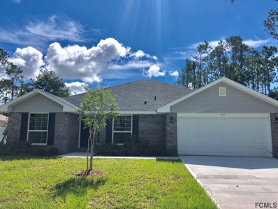 34 Zephyr Lily Trail, Palm Coast, FL 32164 - MLS#: 243220