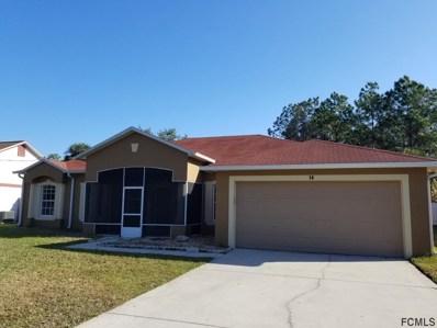 14 NE Burrell Place, Palm Coast, FL 32137 - MLS#: 244598