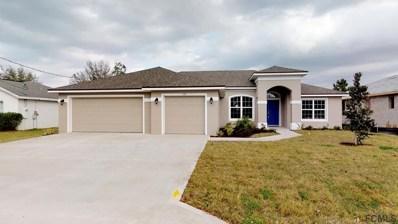 126 Bud Hollow Drive, Palm Coast, FL 32137 - MLS#: 249103