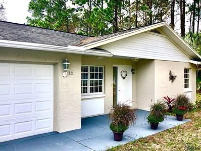12 Poppy Lane, Palm Coast, FL 32164 - MLS#: 253741