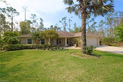 2040 Keane Ave, Naples, FL 34117 - MLS#: 218002903